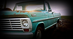 Ford F-100, early 1970s model